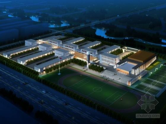 [北川]某小学规划及建筑单体设计方案文本