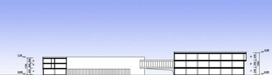 [江苏]方形天窗屋面办公楼规划建筑设计方案文本(含CAD)-方形天窗屋面办公楼规划建筑剖面图