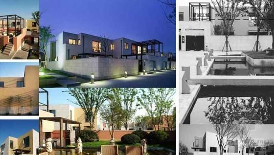 城市低层高密度住宅新产品设计(2012年 全套结构图及效果图)
