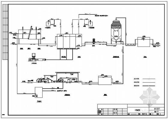 [山东]某污水处理厂整套图纸