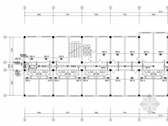 医院病房楼空调工程系统设计施工图
