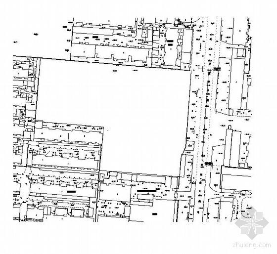 邯郸市某购物广场室外管线工程设计图