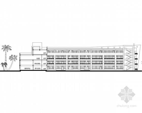 [福建]集美某小学五层三十六班教学楼建筑方案图