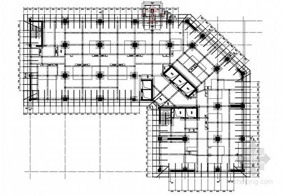 [山东]高层综合楼型钢悬挑脚手架专项施工方案