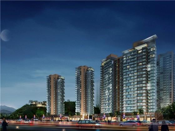 [海南]现代风格住宅小区规划设计方案文本(与地形结合良好 知名事务所)
