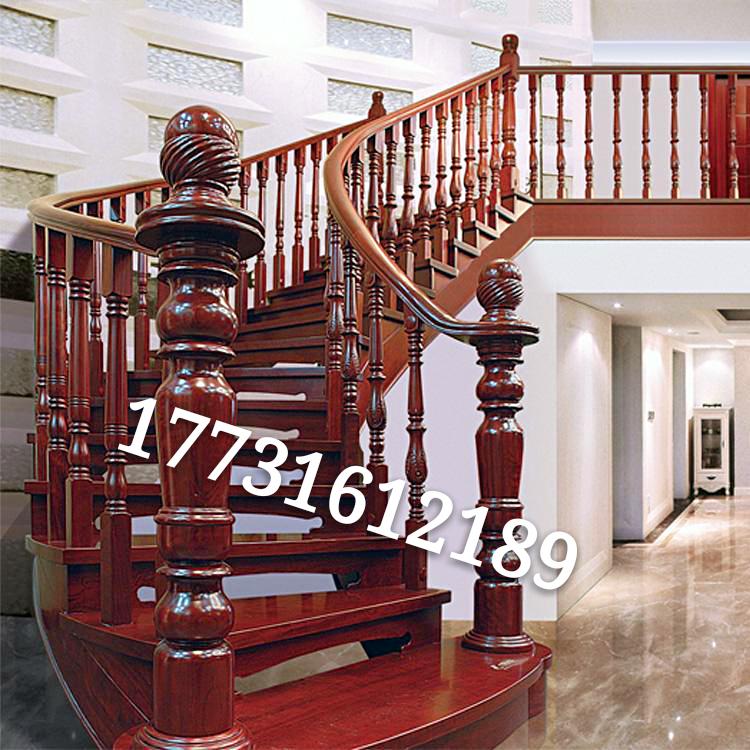 实木楼梯  钢梯