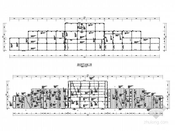 体育场看台结构施工图