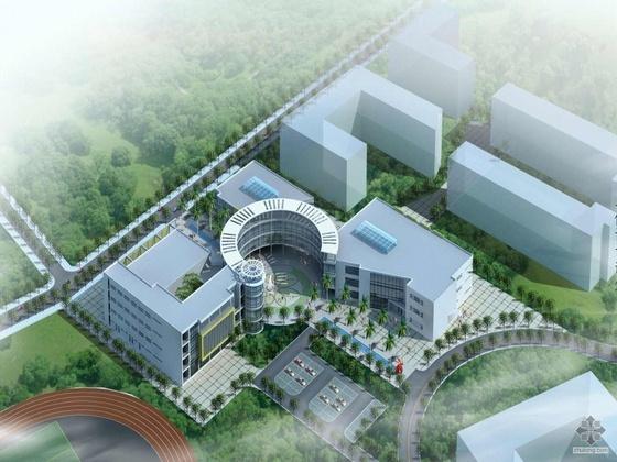 [大连]某民族学院金石滩校区校园规划与建筑单体设计(毕业设计)
