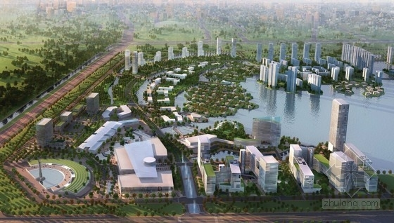 [天津]城市滨水地块概念性总体规划方案文本