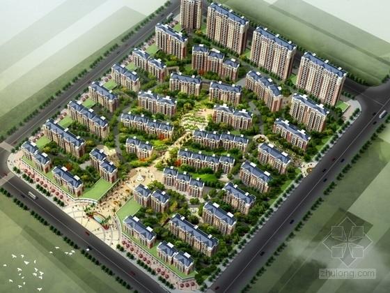 [河南]欧式风格住宅区规划方案文本(含CAD)