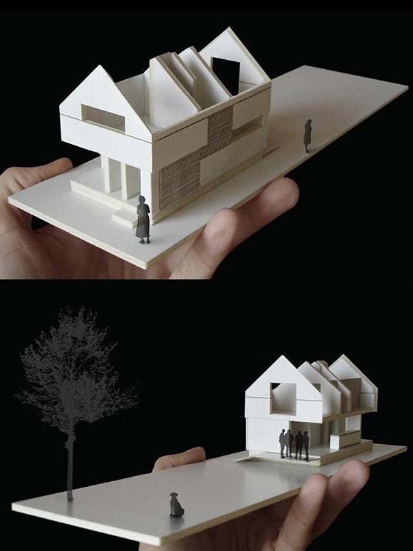 看看国外学生/建筑师的概念模型_9