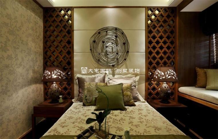 东南亚风格样板间设计上_9