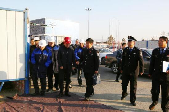 呼和浩特市开展建筑工地扬尘污染专项整治行动