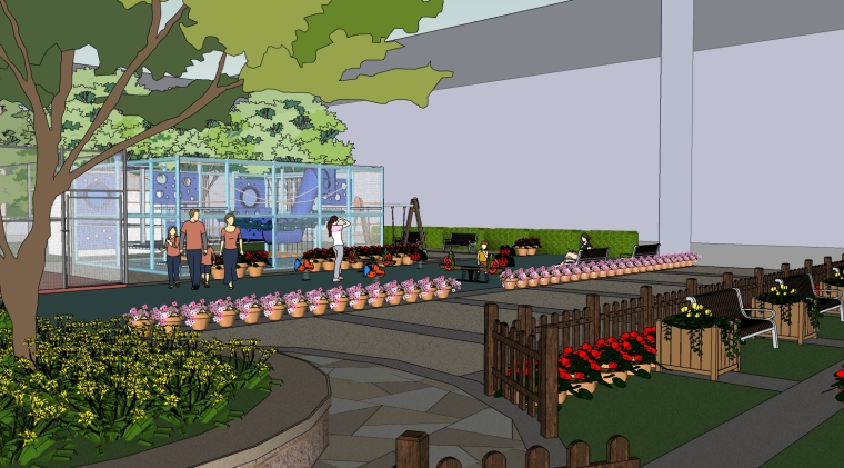 瑞吉酒店户外儿童乐园景观改造