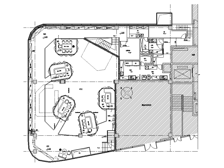 [广东]胡桃里音乐餐厅设计施工图(附效果图)