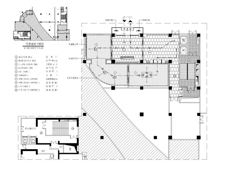 现代奢华风格环球金融中心售楼部深化设计施工图(附效果图)