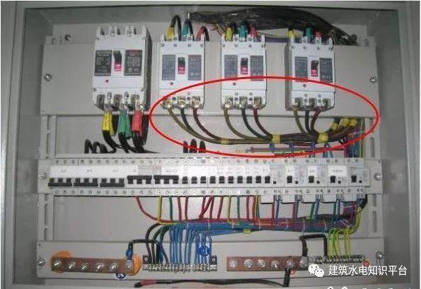 建筑电气工程施工质量通病和解决方法(现场施工图片解说)_35