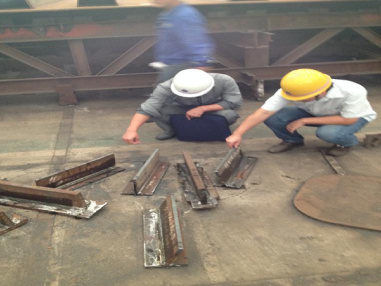 快速路下穿高铁工程钢结构制造驻厂监理工作情况汇报材料