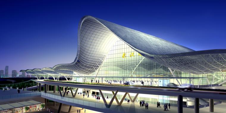 新建武汉站房工程建筑雨棚胎架滑移牵引专项施工方案