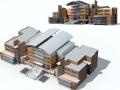 多层钢框架结构公共建筑施工组织设计(word,108页)