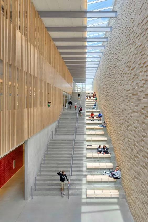 """你以为炫酷的大台阶设计就是画一个超大的""""单跑楼梯""""?_28"""