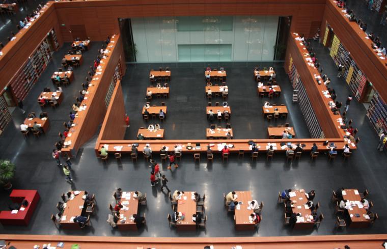 [河北]某大型图书馆室内设计方案报告