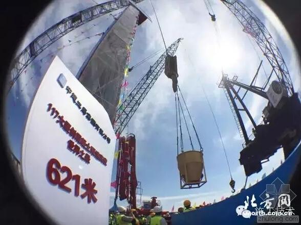 带你看混凝土泵送高度吉尼斯世界纪录创造者的精彩瞬间!