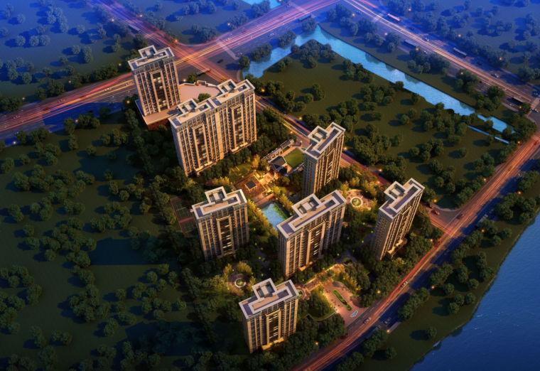 [上海]青浦区新城大型社区建筑项目概念规划方案设计文本