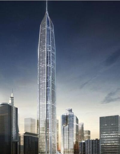 深圳平安金融中心钢结构施工运用BIM技术