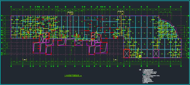 完整短肢剪力墙结构设计图_3