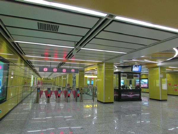 重庆轨道交通六号线二期山城杯优质安装工程奖复查汇报
