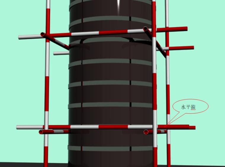 木质圆柱模板水平箍