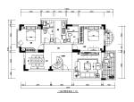 现代风格复式楼房CAD施工图(含效果图)