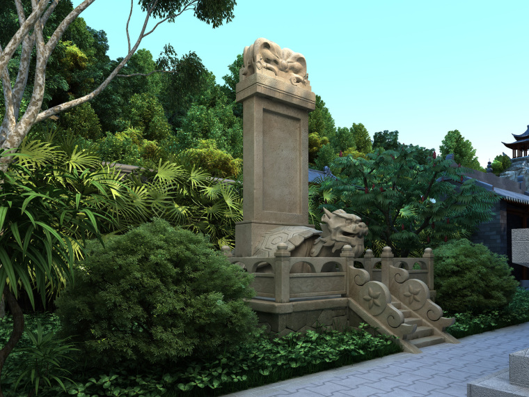 日式禅宗庭园结合禅宗美学设计案例——永福寺_3