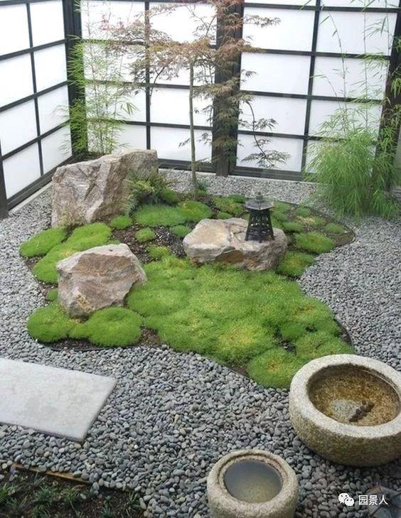 花园景观·石器小景_45