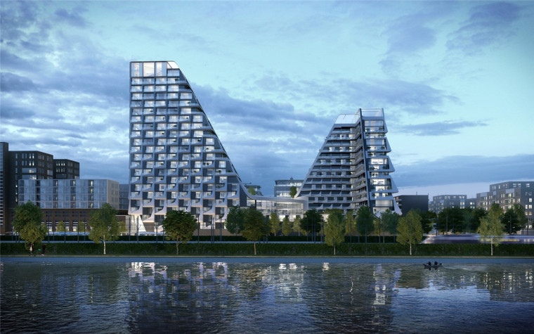 荷兰塔式高层住宅
