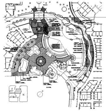[广东]北美风格大型主题购物公园景观设计全套施工图(附部分方案文本)