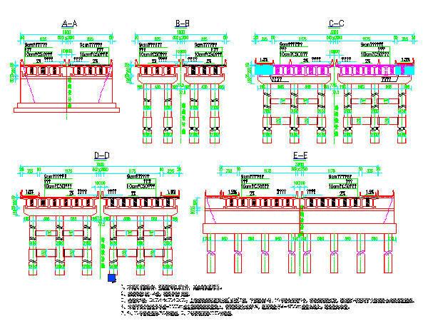 uasb-sbr设计计算资料下载-(3x30+4x30+3x30)m后张法预应力T梁桥施工图设计108张(双悬臂简支梁,计算表格)