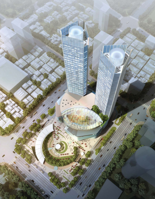 [浙江]超高层个中央国际广场CAD及方案设计全套图纸_6