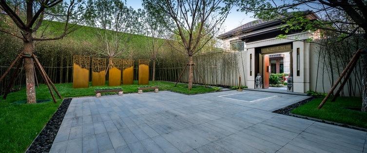 北京阳光城京兆府新中式住宅景观-1 (14)