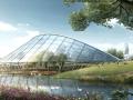 [安徽]大型花卉产业文化生态旅游城市景观规划设计方案