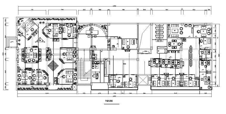 经七路茶楼室内设计施工图纸(含85个CAD图)