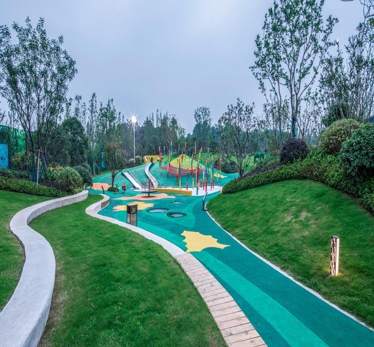 南京新城住宅新中式住宅景观