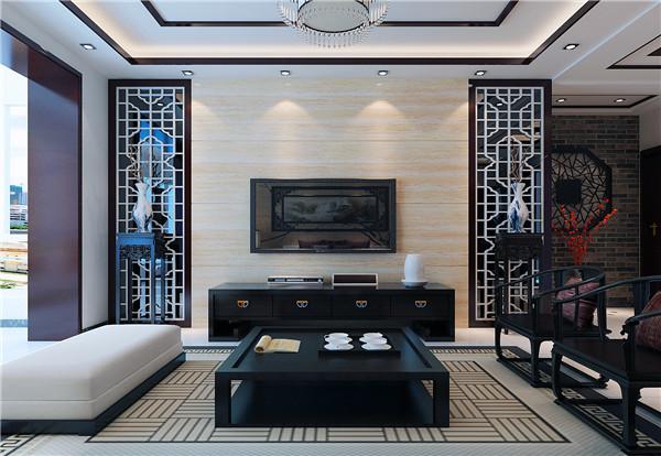 新中式风格装修效果图,诠释东方大国的端庄和大气!