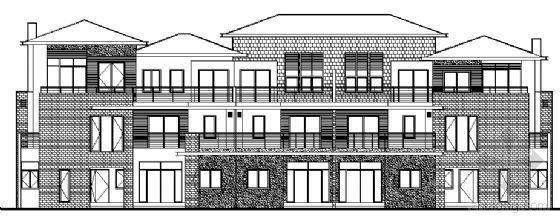 丹堤A区3、4、5号楼建筑施工图