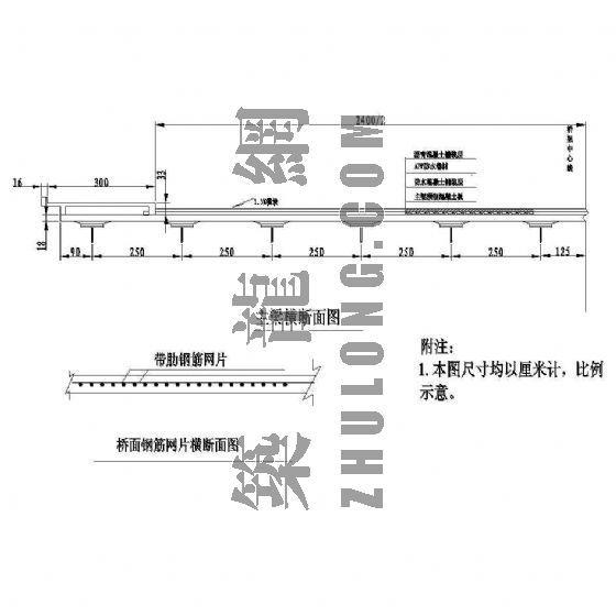 双跨连续简支大型桥梁成套cad设计图纸