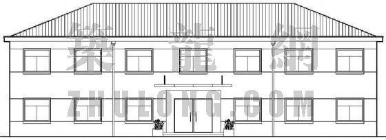 某村委会办公楼建筑设计方案