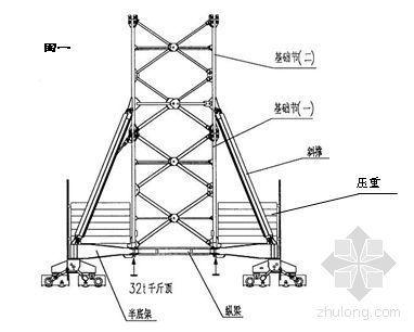 广安某电厂M900A塔吊组立方案及基础施工方案