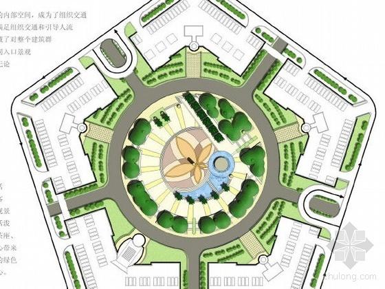 上海商业中心环境景观设计