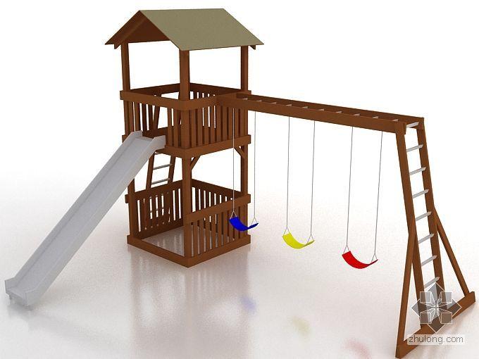 儿童游乐场设施-滑梯